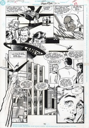 Original Art Page - Action Comics - 660 pg15