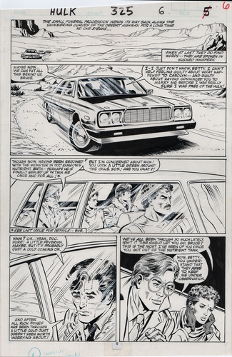 Original Art Page - Hulk - 325 pg05