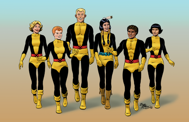 The New Mutants  - Color Print