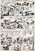 Original Art Page - Star Spangled War Stories - 204 pg26