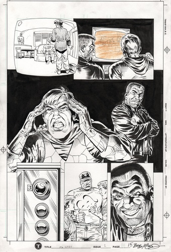 Original Art Page - Mr Hero - 2 pg15