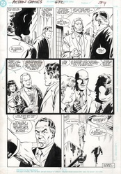Original Art Page - Action Comics - 672 pg07