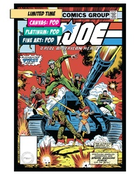 G.I.JOE #1: A REAL AMERICAN HERO