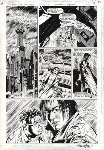 Original Art Page - Psyba Rats - 1 pg37