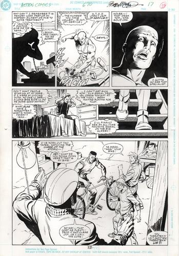 Original Art Page - Action Comics - 670 pg17