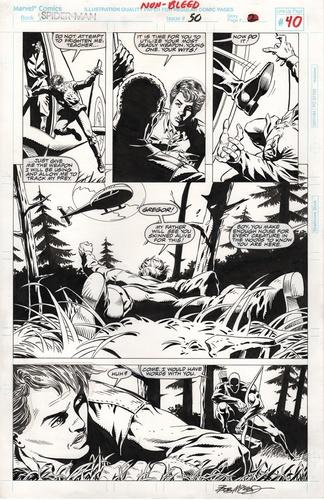 Original Art Page - Spider-Man - 50 pg40