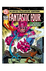 Fantastic Four 21 - Color Print