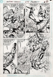 Original Art Page - Action Comics - 675 pg11