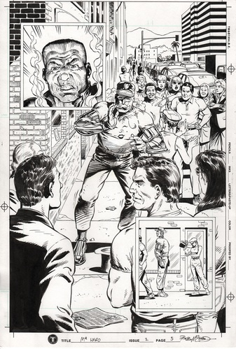 Original Art Page - Mr Hero - 2 pg05