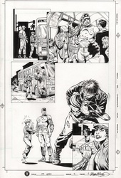 Original Art Page - Mr Hero - 2 pg06