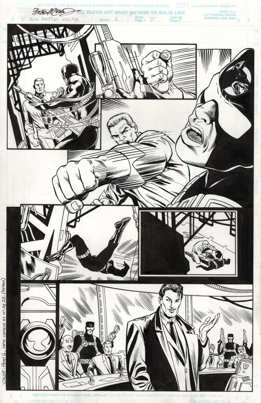 Original Art Page - Iron Man - 2 pg32