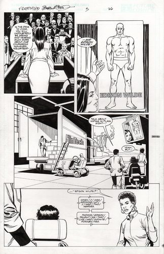Original Art Page - Freemind - 3 pg26