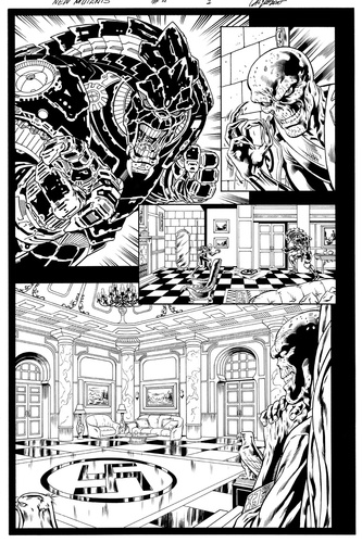 Original Art Page - The New Mutants Forever - 4 pg01