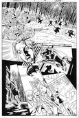 Original Art Page - The New Mutants Forever - 1 pg06