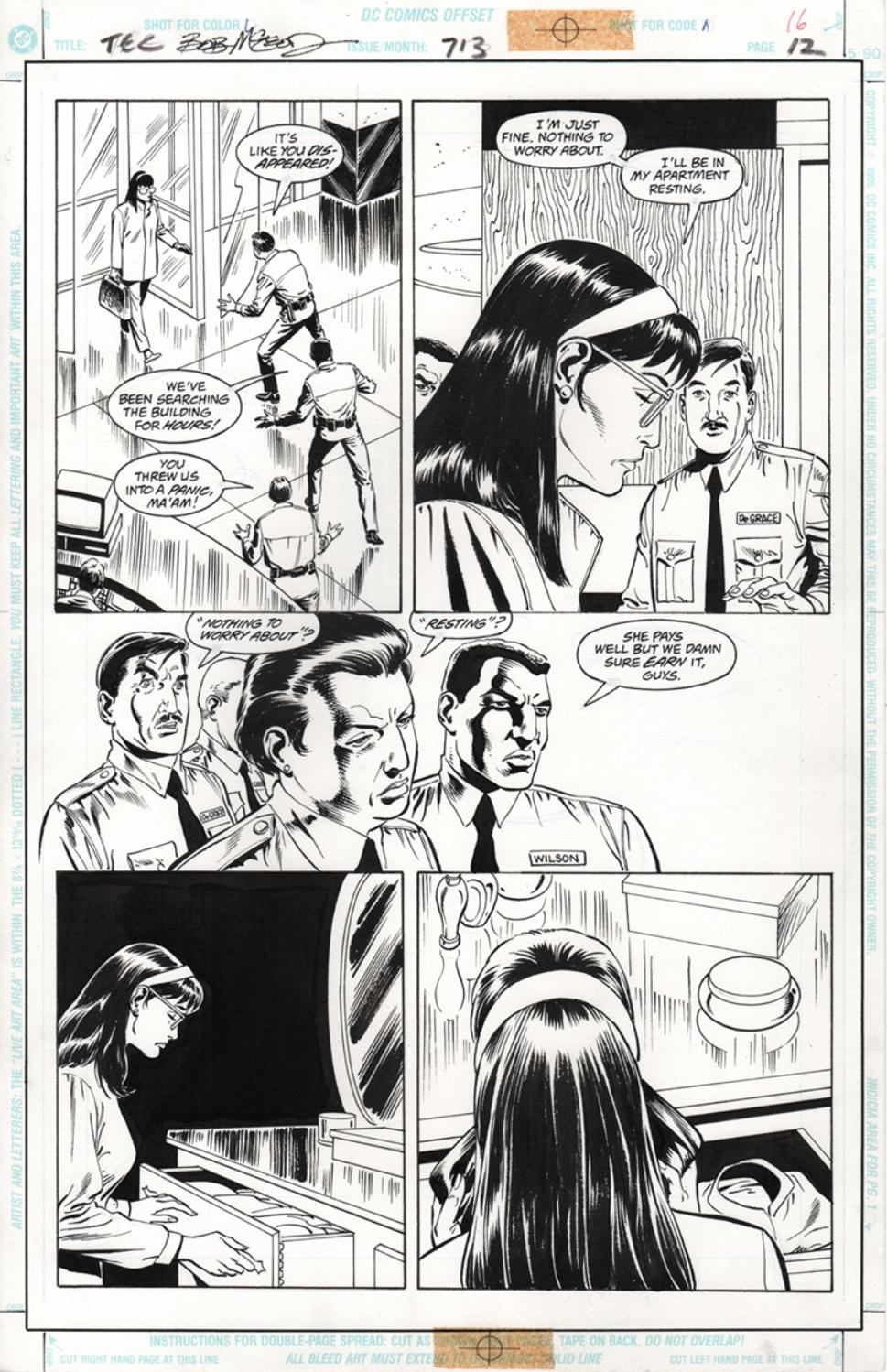Original Art Page - Detective Comics - 713 pg12