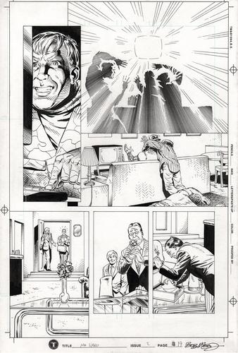Original Art Page - Mr Hero - 2 pg19