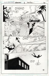 Original Art Page - Black Canary - 1 pg34