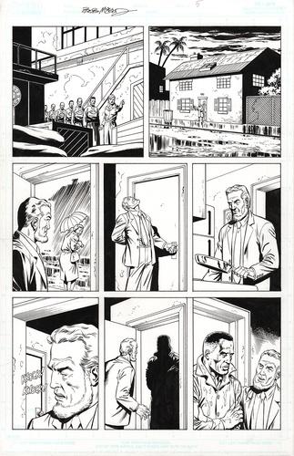 Original Art Page - Fantomen - 21 pg05