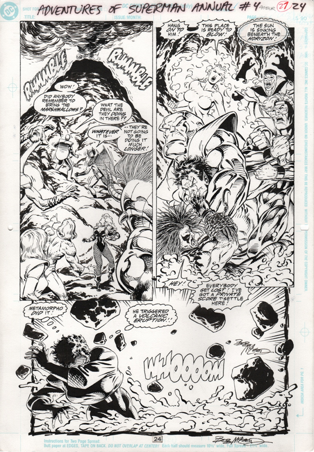 Adventures of Superman - Annual 4 pg24
