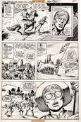Original Art Page - Star Spangled War Stories - 204 pg25