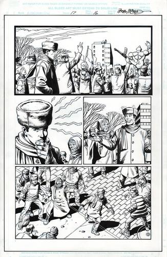 Original Art Page - Webspinners - 17 pg16