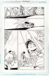 Original Art Page - Action Comics - 8 pg15