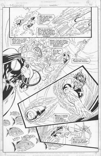 Original Art Page - Nightwing - AN 1 pg51