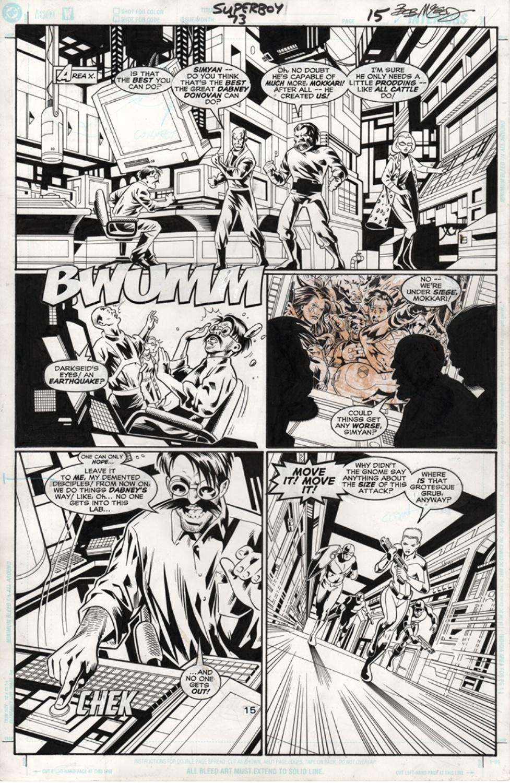 Original Art Page - Superboy - 73 pg15