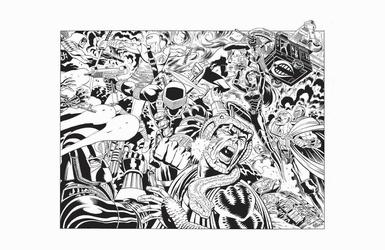 G.I. Joe - BW Print