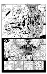 Original Art Page - The New Mutants Forever - 5 pg20