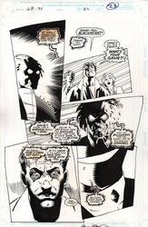 Original Art Page - Ghost Riders Crossroads - pg23