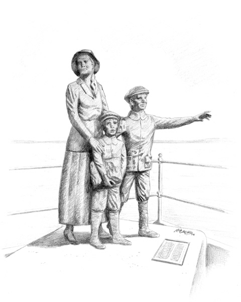 """Annie Moore & sons 2004 9"""" x 12"""""""