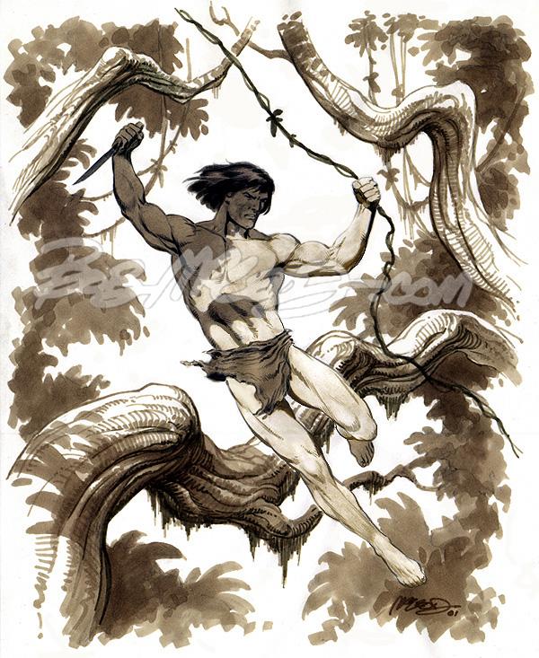 "Tarzan ('01) 11"" x 14"""