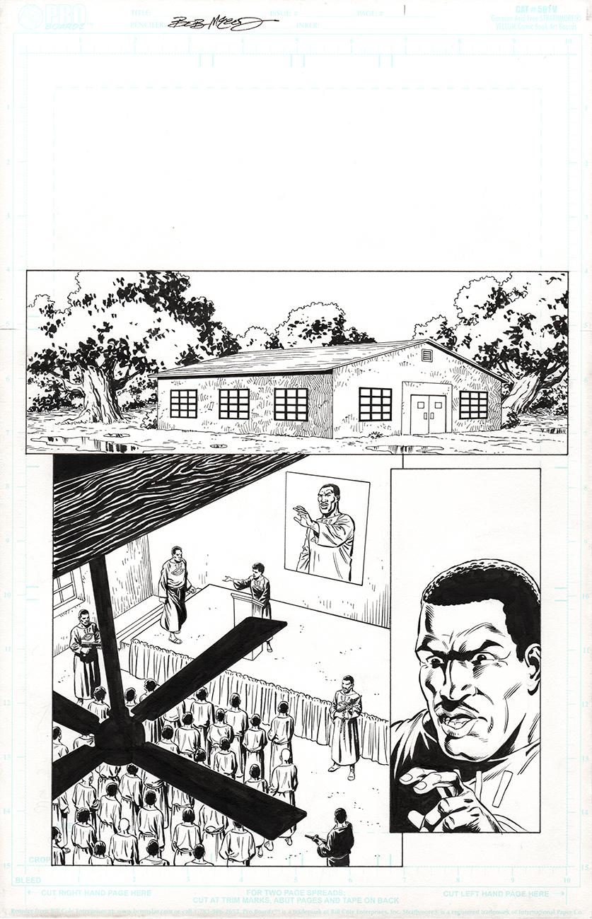 Original Art Page - Fantomen - 21 pg01