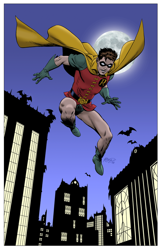 Robin - Color Print