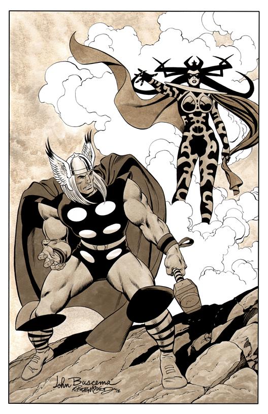 Thor Buscema - Color Print