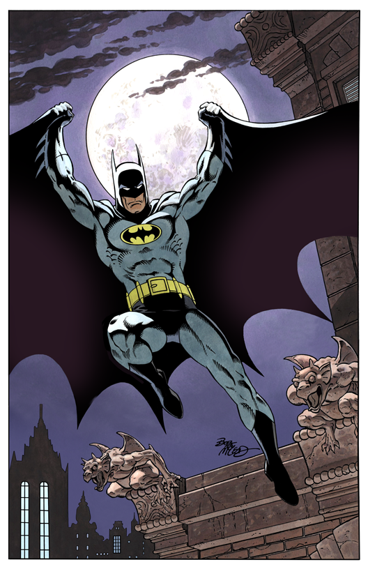 Batman - Color Print