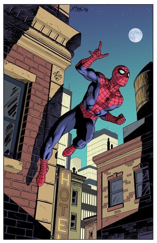 Spiderman - Color Print1