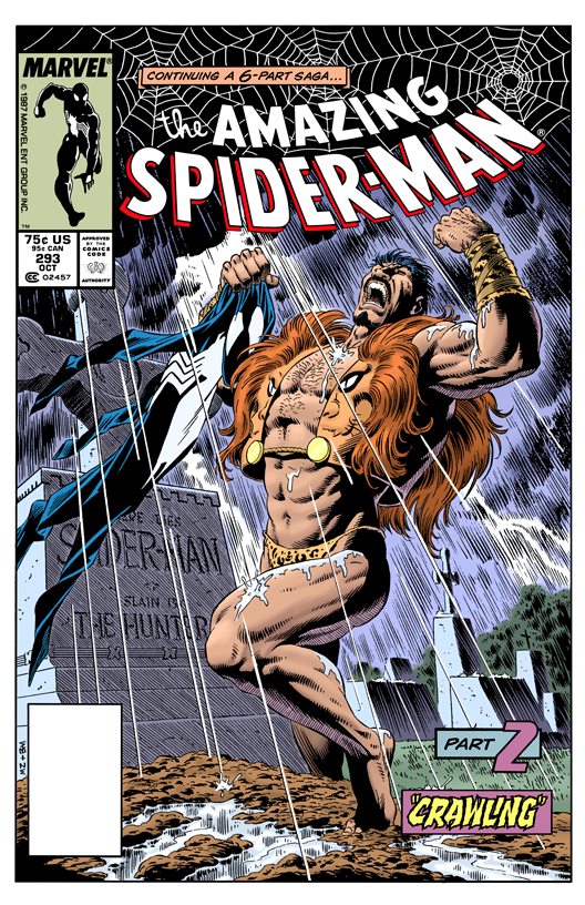 The Amazing Spider-Man 293 - Color Print