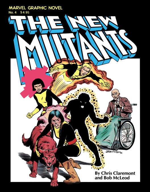 The New Mutants Graphic Novel 4 - Color Print