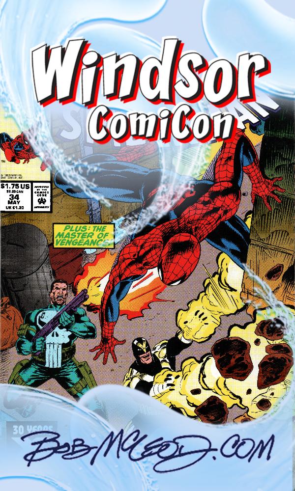 All Events   Bob McLeod: Marvel, DC Comics Artist and Co-creator of