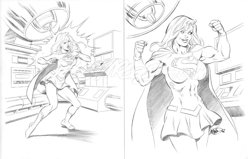 """Supergirl 2006 11"""" x 17"""""""