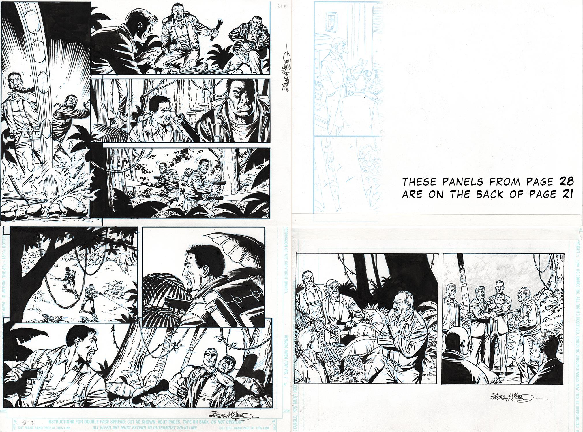 Original Art Page - Fantomen - 11 pg21