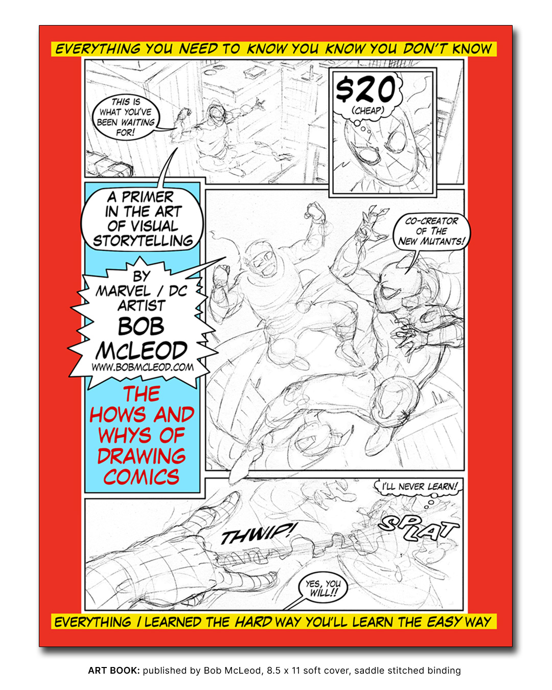 Art Book - THE HOWS AND WHYS OF DRAWING COMICS