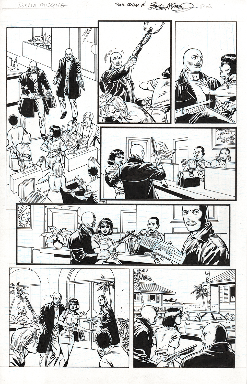 Original Art Page - Fantomen - 9 pg02
