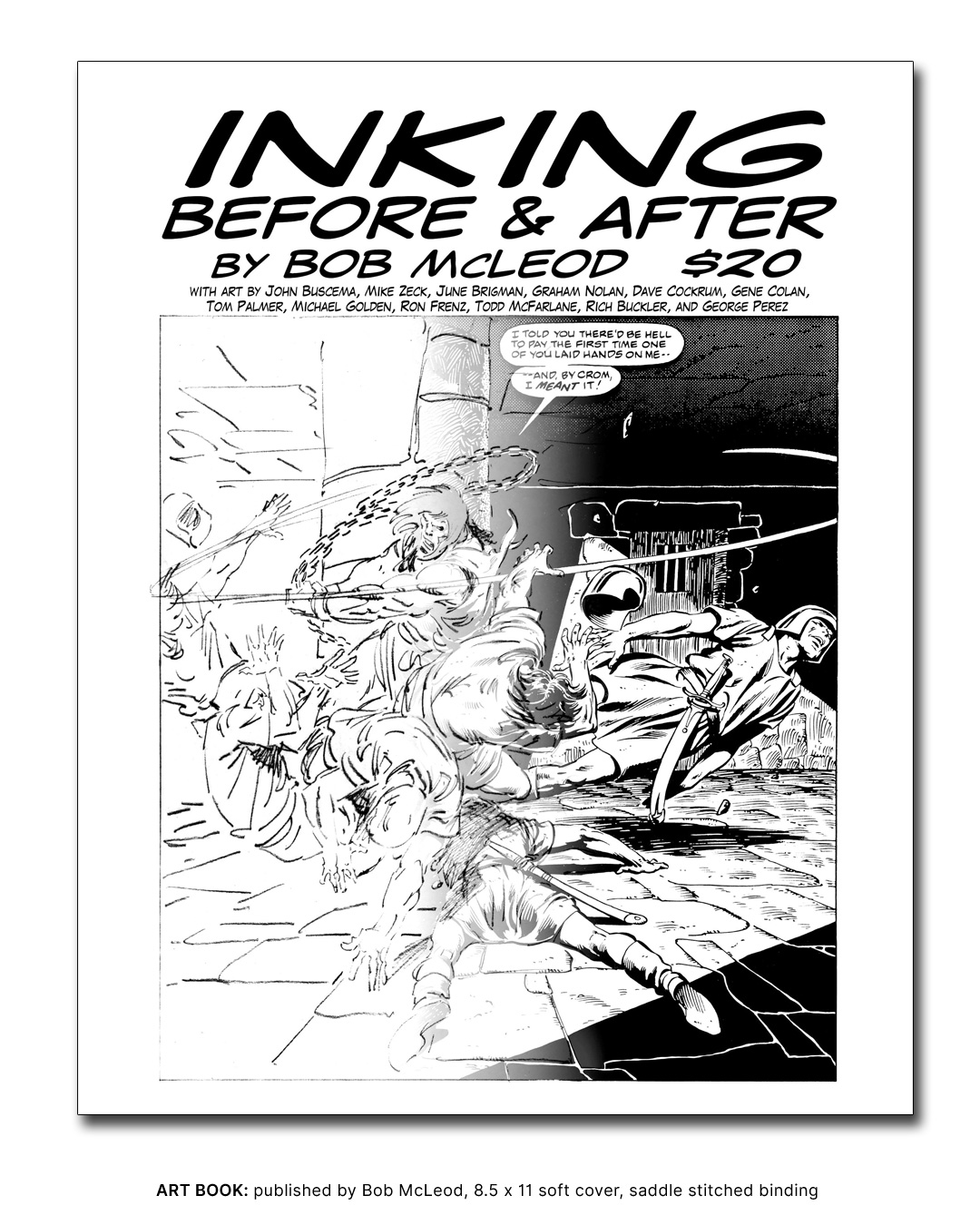 Art Book - INKING: BEFORE & AFTER