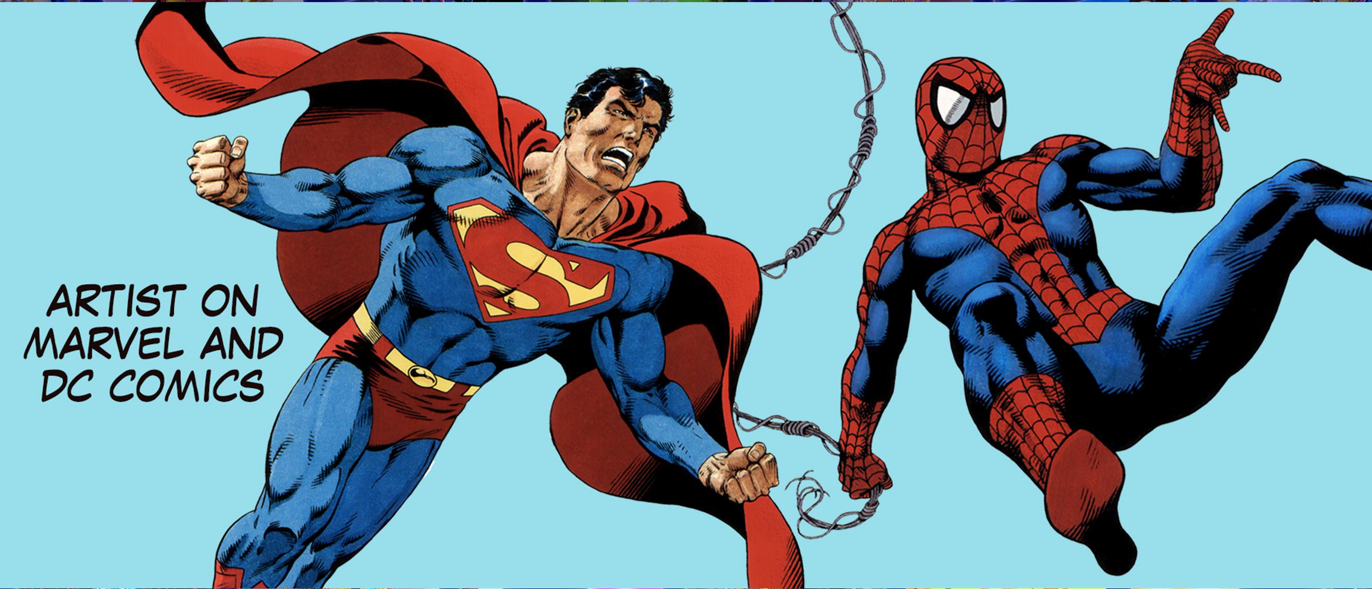 DC & Marvel Artist